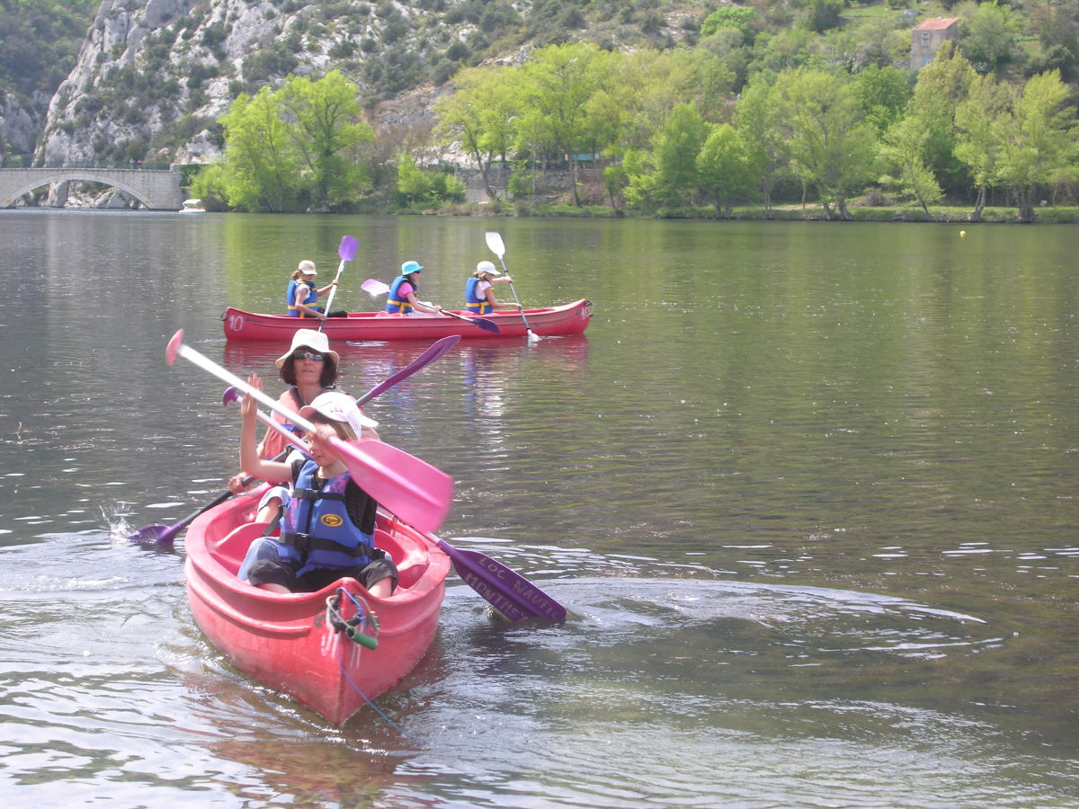 canoe camping les cerisiers luberon