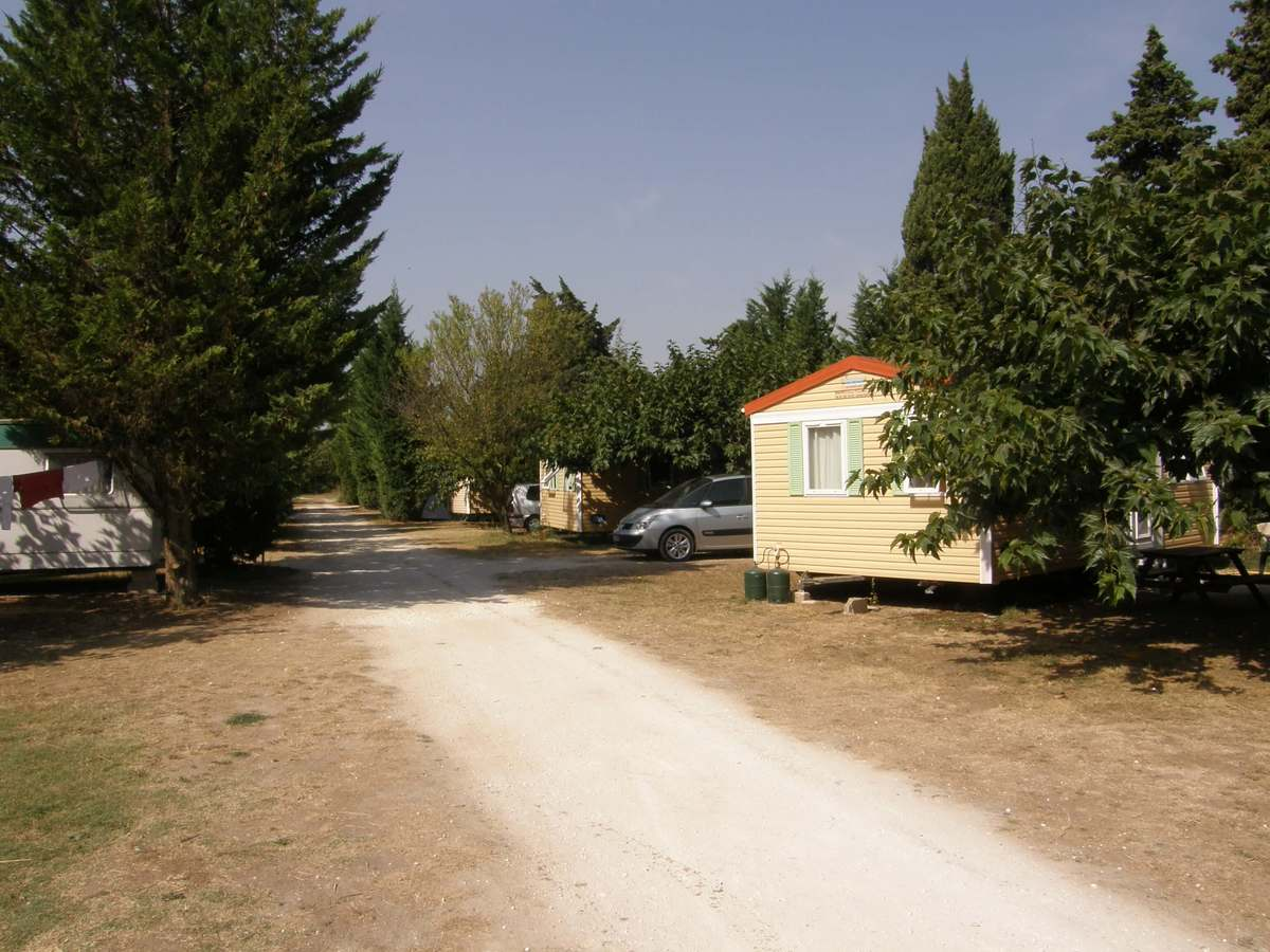 Mobil-home Camping les cerisiers luberon