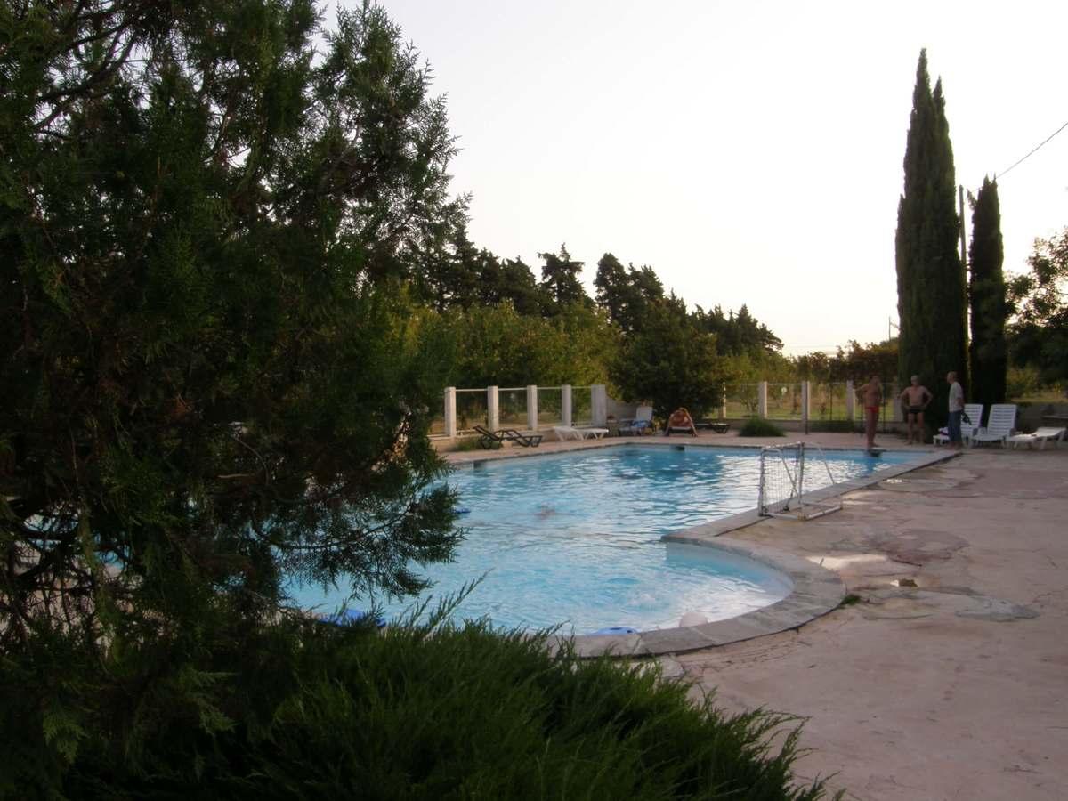 piscine camping les cerisiers luberon